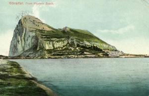 Gibraltar - From Western Beach