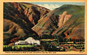 California San Bernardino Valley Famous Arrowhead Springs Hotel On Road To La...