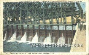 Emergency Dam, Gatun Locks Panama Canal Panama Unused