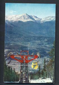 Wildcat, NH Postcard, Mounts Adams, Jefferson & Madison/Lift