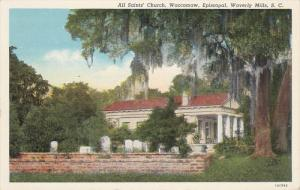 WAVERLY MILLS, South Carolina; All Saints' Church, Waccamaw, Episcopal, 30-40s