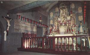 Interior of the original chapel, Saint Joseph's Oratory of Mount Royal, Quebe...