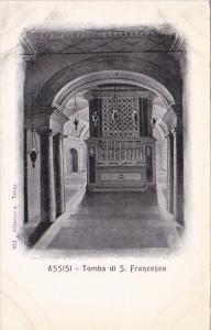 Italy Assisi Tomba di San Francesco