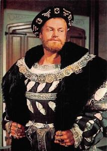 Keith Michell as Henry VIII in BBC TV series The Six Wives of Henry VIII