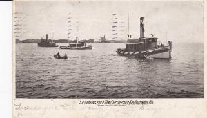 BALTIMORE, Maryland, PU-1910; Looking For A Tow, Chesapeake Bay