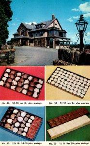 Massachusetts Shrewsbury Hebert Candy Mansion Route 20