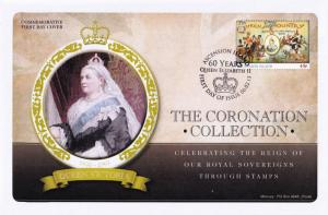 Queen Victoria Ascension Island Royal Coronation First Day Cover