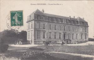 FRANCE, 1900-1910's; Chateau D'Epluches, Facade Nord-Est