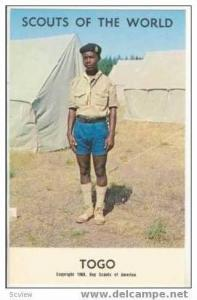 Boy Scouts of the World, TOGO SCOUTS, 1968