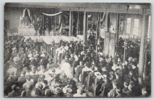 Chicago IL~St. Mary's Church~Eastland Disaster~1 Funeral Service~29 Coffins~1915