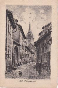 ALT WEIMAR (Thuringia), Germany, 1900-1910s