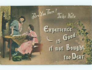 Divided-Back PRETTY WOMAN Risque Interest Postcard AA7938