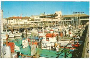 USA, Fisherman's Wharf, San Francisco, unused Postcard