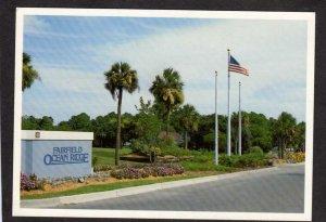 SC Fairfield Ocean Ridge Community Edisto Beach South Carolina Postcard