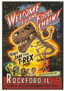 Illinois Rockford Visit Jane The T-Rex 2006