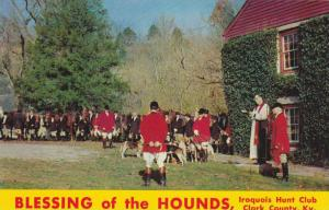 Blessing of the Hounds, Iroquois Hunt Club, Clark County, Kentucky, 40-60s