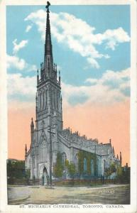 Postcard St. Michael's Cathedral, Toronto, Canada 1932 A30