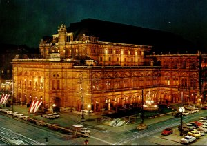 Austria Vienna The Opera House By Night 1993