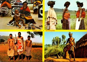 Southern Africa Village Scenes Nude Topless