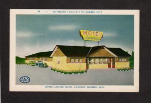 QC Hotel Louise Blvd Laurier Quebec Canada Carte Postale Postcard