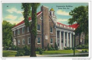 Community Building , Forty Fort , Pennsylvania 30s - 40s