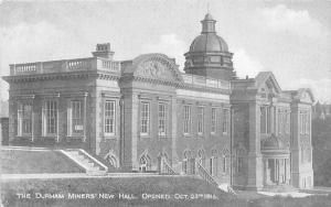 The Durham Miners New Hall