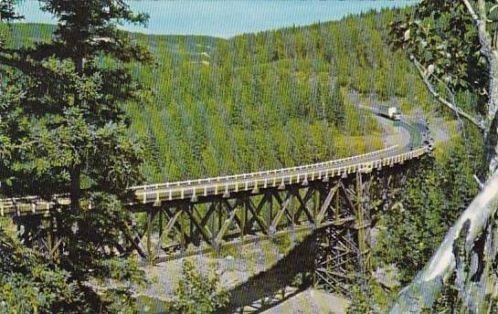 Kiskatinaw River Bridge British Columbia Canada