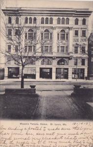 Masonic Temple Odeon Saint Louis Missouri 1907