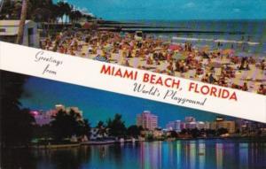 Greetings From Miami Beach Florida