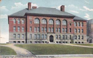 SOMERVILLE, Massachusetts, PU-1910; English High School, Central Hill Park