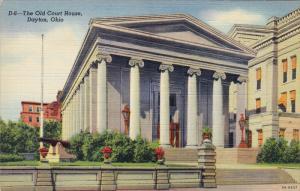 The Old Court House, DAYTON, Ohio, 1930-1940s
