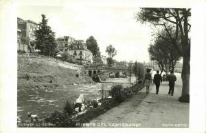 ecuador, CUENCA, Puente del Centenario (1950s) RPPC Postcard