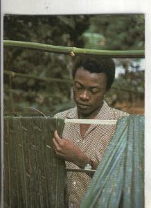 Postal: Guinea ecuatorial: Fabricando Nipa