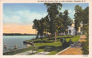 Red Fez Country Club on Lake Catawba, Charlotte, N.C., early postcard, unused