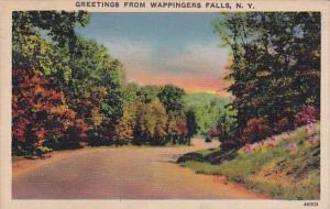 Greetings From Wappingers Falls New York 1942