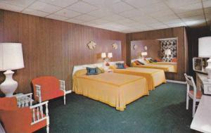 Interior,The Continental Inn, Lexington, Kentucky,40-60s