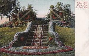 Minnesota Saint Paul Gates Ajar Como Park