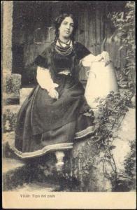 spain, VIGO, Tipo del Pais, Woman Costumes  (1910s)