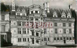 Modern Postcard Chateau de Blois Wing Francois 1er and the Staircase of Honor