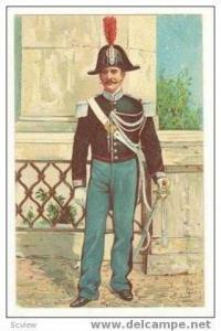 Gendarme pontificio in mezza tenuta, Pre 1905