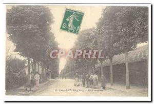 Camp & # 39Avord Postcard Old Street (animated)