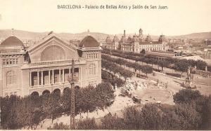 Spain Barcelona - Palacio de Bellas Artes y Salon de San Juan