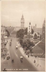 England London St Margaret's & Big Ben