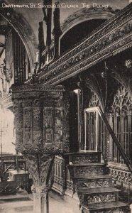 The Pulpit,St Saviour's Church,Dartmouth,England,UK BIN