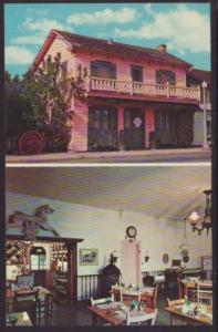 La Casa Rosa San Juan Bautista CA Postcard 4680