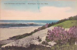 Cape Cod Bluffs And Sand Bars Harwichport Cape Cod Massachusetts Handcolored ...