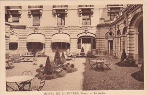 France Tours Hotel De L'Univers Le Jardin
