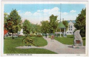 Houlton, Maine, Monument Park