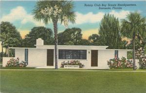 Sarasota Florida~Gillespie Park~Rotary Club~Boy Scouts Headquarters~1940s