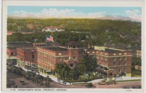 Prescott AZ - Hassayampa Hotel, 122 E. Gurley St. 1920s